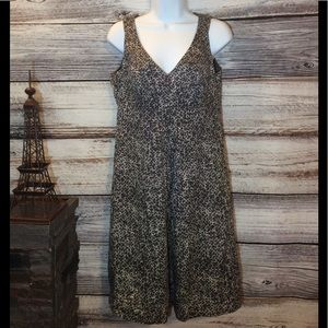 New York & Company Bubble Pattern Midi Dress